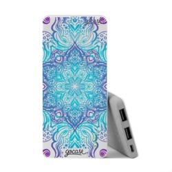 Power Bank Slim Portable Charger (5000mAh) - Flower Mandala