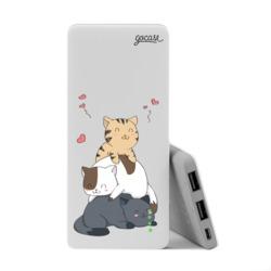Power Bank Slim Portable Charger (5000mAh) - Cuteness