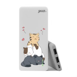 Power Bank Slim Portable Charger (5000mAh) - Cuteness