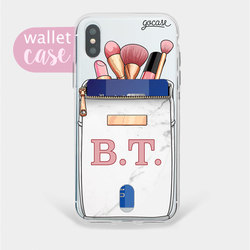 Capinha para celular Kit Makeup - Wallet