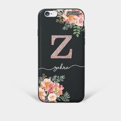 Capinha para celular Floral Glitter