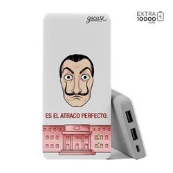Carregador Portátil Power Bank (10000mAh) - Atraco Perfecto