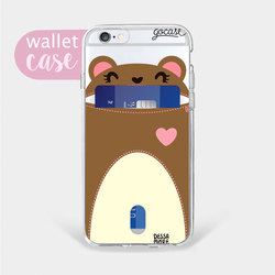 Bear - Wallet Phone Case