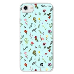 Flowers In Blue Phone Case