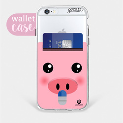 Sweet Pig - Wallet Phone Case