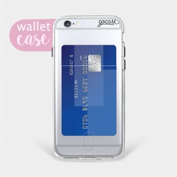 Clear - Wallet Phone Case