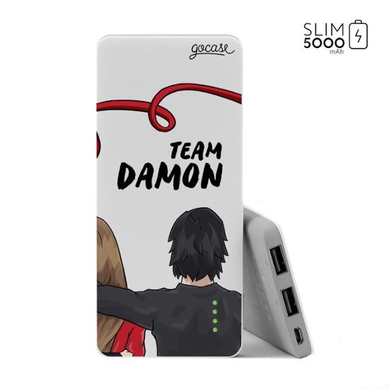 Power Bank Slim Portable Charger (5000mAh) - Team Damon