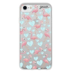 Flamingos Blue Phone Case