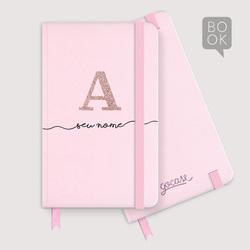 Sketchbook - Iniciais Glitter
