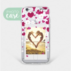 Floating Hearts - Wallet Phone Case