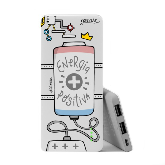 Carregador Portátil Power Bank Slim (5000mAh) - Energia Positiva
