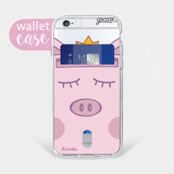 Pig King - Wallet Phone Case