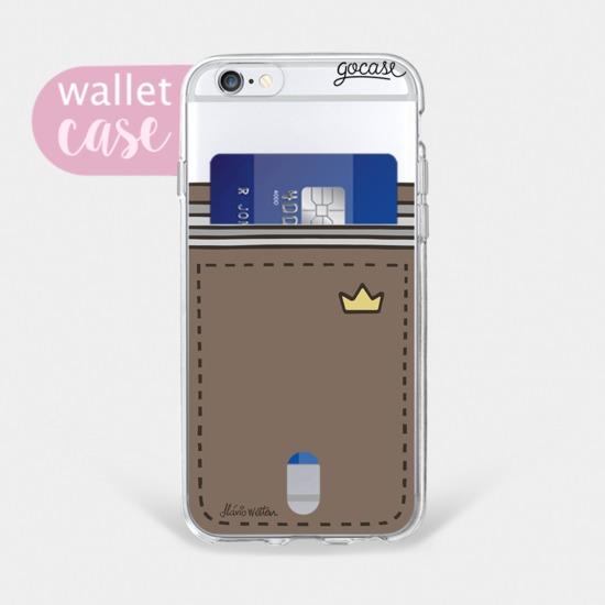 89ea9a1090 Capinha para celular Minha carteira - Cartão - Gocase