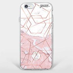 Capinha para celular Rosê Marble