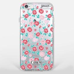 Capinha para celular Pink Rosas