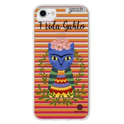 Capinha para celular Frida Cat