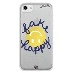 Capinha para celular Fake Happy