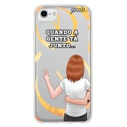 Capinha para celular Amizade (Gabie) by Depois das Onze
