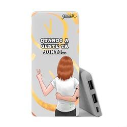 Carregador Portátil Power Bank Slim (5000mAh) - Amizade (Gabie) by Depois das Onze