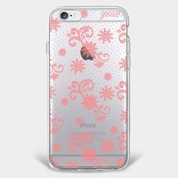 Red Lace Phone Case