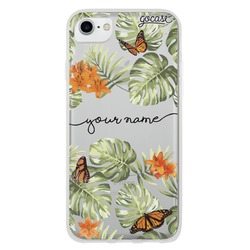 Floral Butterflies Handwritten Phone Case
