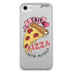 Capinha para celular I Ship Pizza