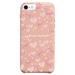 Royal Rose - Flamingos Handwritten Phone Case