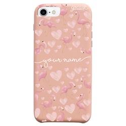 Royal Rose - Flamingos Handwritten Phone Case