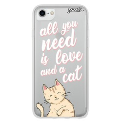 Love And Cat Phone Case