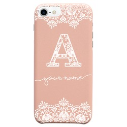 Royal Rose - Initial Lace Phone Case