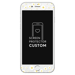 Daisies White Screen Protector - Tempered Glass