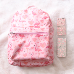 Mochila Gocase Bag - Flamingos