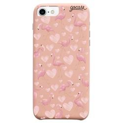 Capinha para celular Fascino - Flamingos