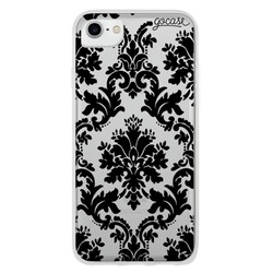 Mandala Black Flower Phone Case