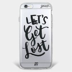 Capinha para celular Lets Get Lost