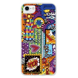 Capinha para celular Love Pop Art