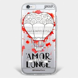 Capinha para celular Amor Te Leva Mais Longe