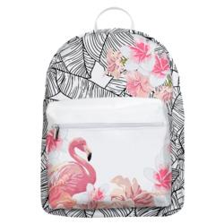 Mochila Gocase Bag - Flamingo e Flores