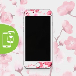 Cherry petals Handwritten -  Screen protector - Tempered glass