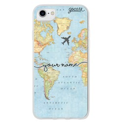 Coque World Map Handwritten