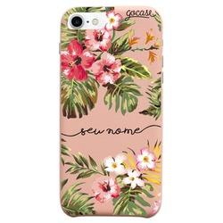Capinha para celular Fascino - Floral Manuscrita