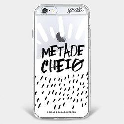 Capinha para celular Metade Cheio