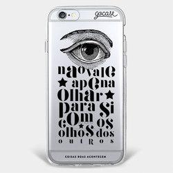 Capinha para celular Olhar para si