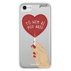 Capinha para celular Tô Nem Aí