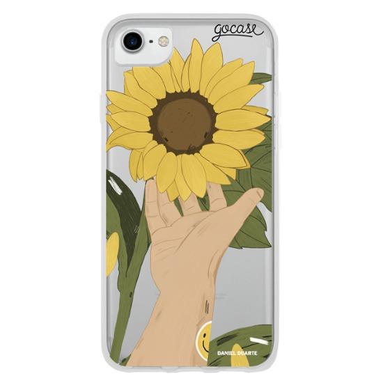 Capinha para celular Flor de Girassol