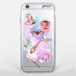 Capinha para celular Potter Aquarela