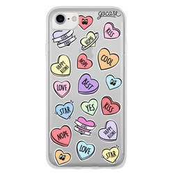 Patches Hearts Phone Case