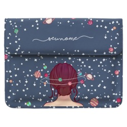 Case Clutch Notebook - Mente Universo Manuscrita