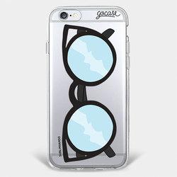 Capinha para celular Óculos Gatinho