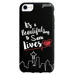 Black Case  Save Lives Phone Case
